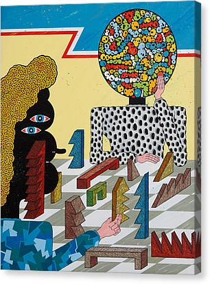 Young Turks Canvas Print by Matt Leines