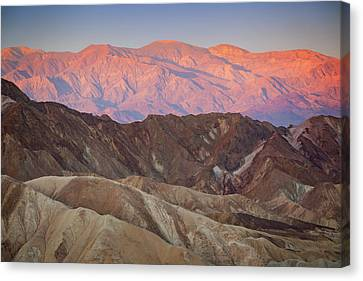 Zabriskie Sunrise IIi Canvas Print by Ricky Barnard