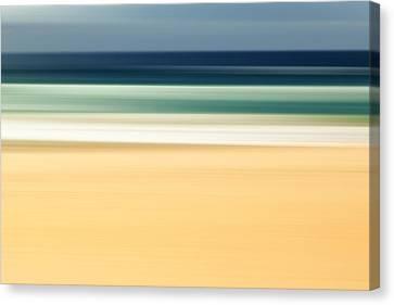 Zen Beach Canvas Print by Az Jackson