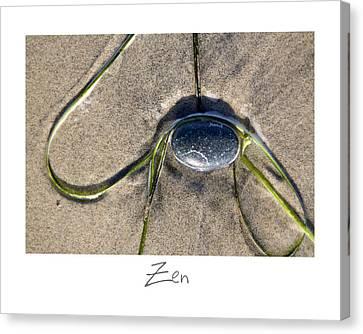 Zen Canvas Print by Peter Tellone