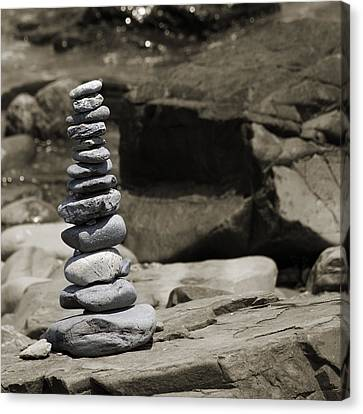 Zen Power Tower Canvas Print by Betsy C Knapp