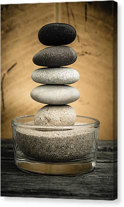 Zen Stones I Canvas Print by Marco Oliveira