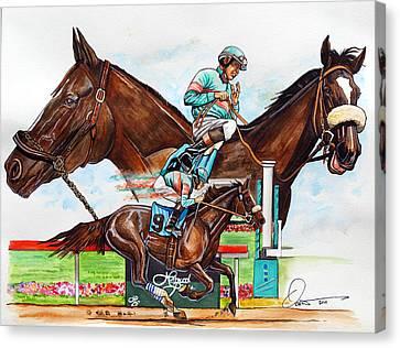 Zenyatta Canvas Print by Dave Olsen