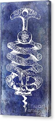 Zig Zag Corkscrew Canvas Print by Jon Neidert