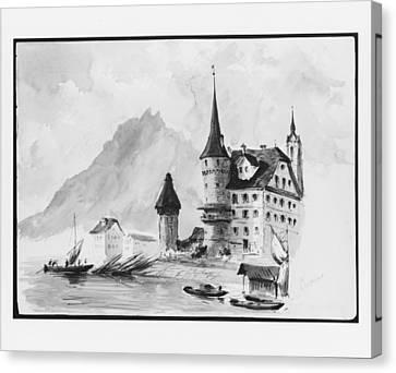 Zur Gilgen House Canvas Print by John Singer