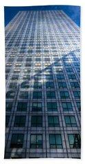 Canary Wharf Tower Hand Towel by David Pyatt