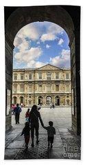 Louvre Hand Towel by Elena Elisseeva