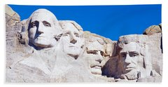 Mount Rushmore, South Dakota, Usa Hand Towel by Panoramic Images