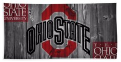 Ohio State Buckeyes Hand Towel by Dan Sproul