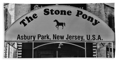 Stone Pony Hand Towel by Paul Ward