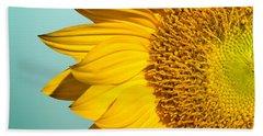 Sunflower Hand Towel by Mark Ashkenazi
