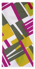 Design From Nouvelles Compositions Decoratives Hand Towel by Serge Gladky