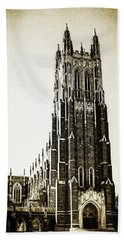 Duke Chapel Hand Towel by Emily Kay