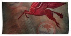 Pegasus Hand Towel by David and Carol Kelly