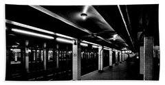 23rd Street Station Hand Towel by Benjamin Yeager
