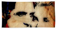 Cary Grant And Grace Kelly Collection Hand Towel by Marvin Blaine