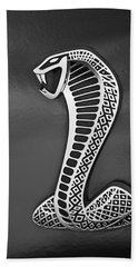 Cobra Emblem Hand Towel by Jill Reger