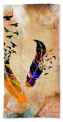 Birds Of A Feather Hand Towel by Marvin Blaine