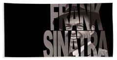 Frank Sinatra Hand Towel by Marvin Blaine