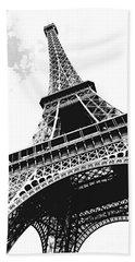 Eiffel Tower Hand Towel by Elena Elisseeva