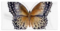 77 Cethosia Butterfly Hand Towel by Amy Kirkpatrick