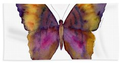 99 Marcella Daggerwing Butterfly Hand Towel by Amy Kirkpatrick
