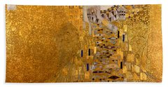 Adele Bloch Bauers Portrait Hand Towel by Gustive Klimt
