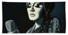 Adele Skyfall Painting Hand Towel by Paul Meijering