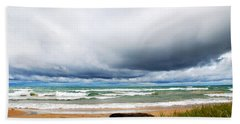 After The Storm Waterscape Hand Towel by Christina Rollo