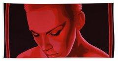 Annie Lennox Hand Towel by Paul Meijering