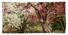 Apple Blossom Colors Hand Towel by Joe Mamer