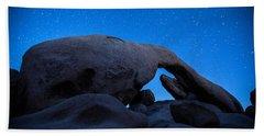 Arch Rock Starry Night 2 Bath Towel by Stephen Stookey