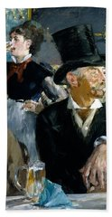 At The Cafe Concert Hand Towel by Edouard Manet