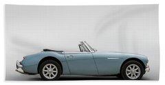 Austin Healey 3000 Mkiii Hand Towel by Douglas Pittman