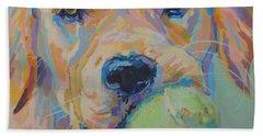 Ball Hand Towel by Kimberly Santini