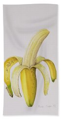 Banana Hand Towel by Alison Cooper