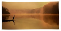 Beside Still Waters Hand Towel by Rob Blair