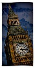 Big Ben 5 Hand Towel by Stephen Stookey