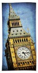 Big Ben 7 Hand Towel by Stephen Stookey