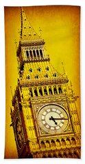 Big Ben 9 Hand Towel by Stephen Stookey