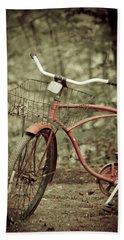 Bike Hand Towel by Shane Holsclaw