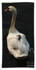 Birds Of A Feather Stick Together Hand Towel by Bob Christopher