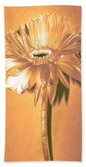 Captain And Coke Zinnia Hand Towel by Sherry Allen