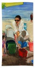 Carolyn Hand Towel by Daniel Clarke