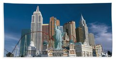 Casino Las Vegas Nv Hand Towel by Panoramic Images