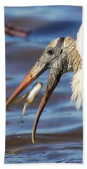 Catch Of The Day Hand Towel by Bruce J Robinson