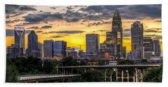 Charlotte Dusk Hand Towel by Chris Austin