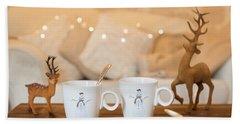 Christmas Teabreak Hand Towel by Amanda Elwell