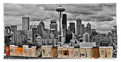 Coffee Capital Hand Towel by Benjamin Yeager