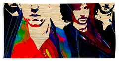 Coldplay Collection Hand Towel by Marvin Blaine